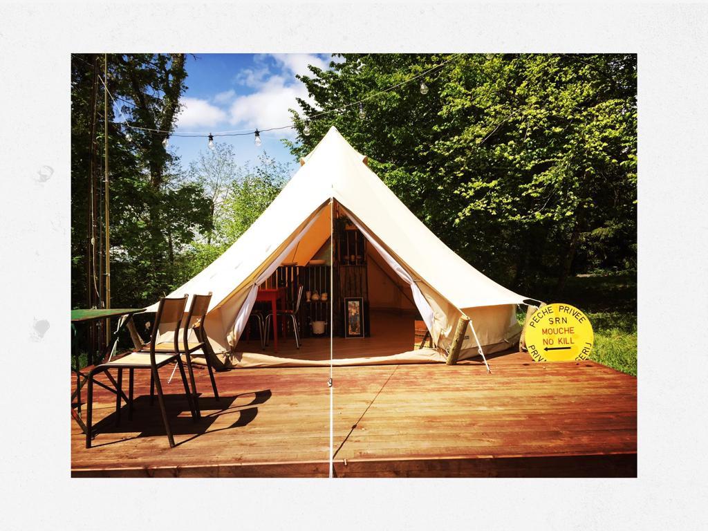 Naturia - tente safari pêcheurs 2